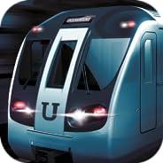 Underground Driving Simulator - Railway Trip: Zug und Lokomotive Spiele, Rennen bis Bahnhof, Rennspiele mit Ve