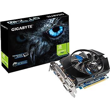 Gigabyte GV-N740D5OC-2GI NVIDIA GeForce GT 740 2GB - Tarjeta gráfica (NVIDIA, GeForce GT 740, 4096 x 2160 Pixeles, 2 GB, GDDR5-SDRAM, 128 Bit)