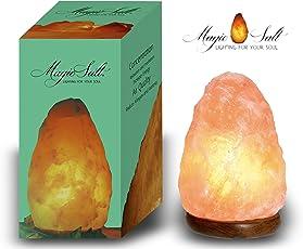 Lampada di sale dell Himalaya Magic Salt Lighting for Your Soul –