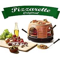 Emerio PO-116124 - Forno per pizza in terracotta, design brevettato, per 8 persone