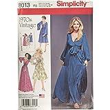 Simplicity Sewing Pattern 8013R5 Misses' Vintage 1970's Dresses', Paper, White, R5 (14-16-18-20-22)