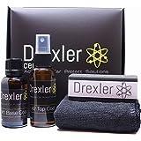 Drexler Ceramic Kit de Protection Ceramique 30ml + 50ml Ceramic Coating 4 Ans Pro 9H Automobile Voiture Car Care