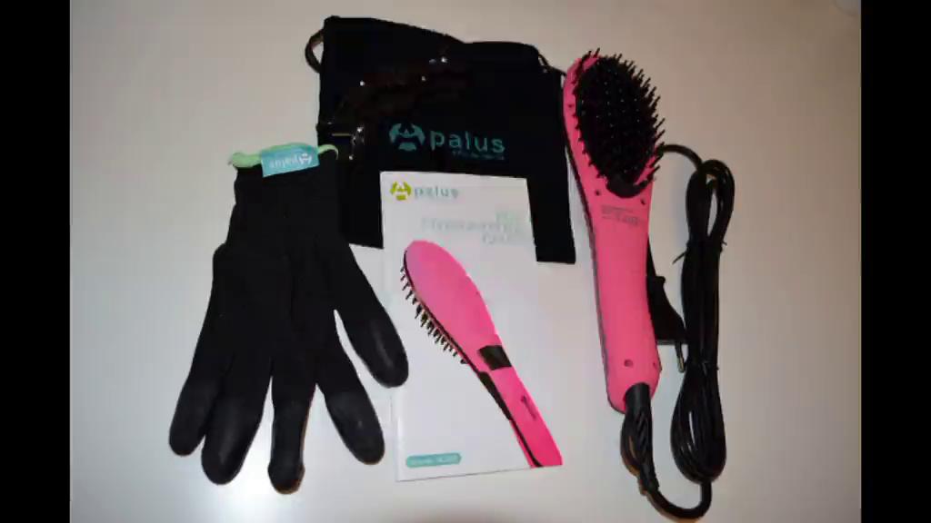 Amazon.es:Opiniones de clientes: Cepillo alisador de pelo Apalus, alisador de pelo, peinado y alisado de cabello en una pasada, con función de temperatura ...