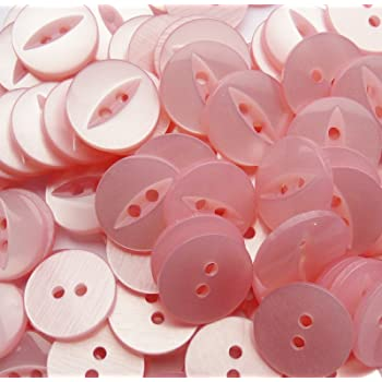 Black 24Pcs Colorful Circle Shape Buttons 2 Holes Buttons for Sewing Scrapbooking Crafts TONVER 2 Holes Sewing Buttons