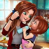 Jeu virtuel de la mère de famille de travail simulateur de maman 3D: Jeux d'aventure de maman garderie pour les filles gratuitement 2018