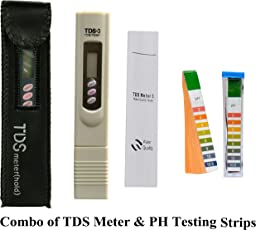 PSI Pocket Digital Tds Meter For RO Filter Purifier Water Quality Tester With Carry Case