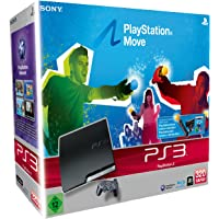 PlayStation 3 - Konsole Slim 320 GB (J-Model) inkl. Move Starter Pack