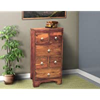 WOOD MOUNT Sheesham Wood Chest of Drawers Storage 6 Drawers Chester Cabinet Solid Wooden Dresser Organizer Furniture for…