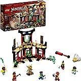 LEGO 71735 Ninjago LeTournoideséléments Jeu de Construction avec arène de Combat et Figurine de Ninja Lloyd Or à Collectio