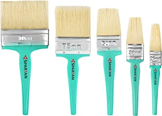 Paint Brush Handle Multicolour Set of 5 (100 MM+ 75 MM +50MM+38MM+25MM) Mnspro