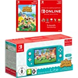 Nintendo Switch Lite (Turquoise) Animal Crossing New Horizons + NSO 3 months