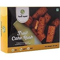 FRUIT CAKE RUSK - 500 gms(Combo Pack 2*250 gms) Pure Vegetarian Premium Fruit Cake Rusk || Handmade crispy & delicious…