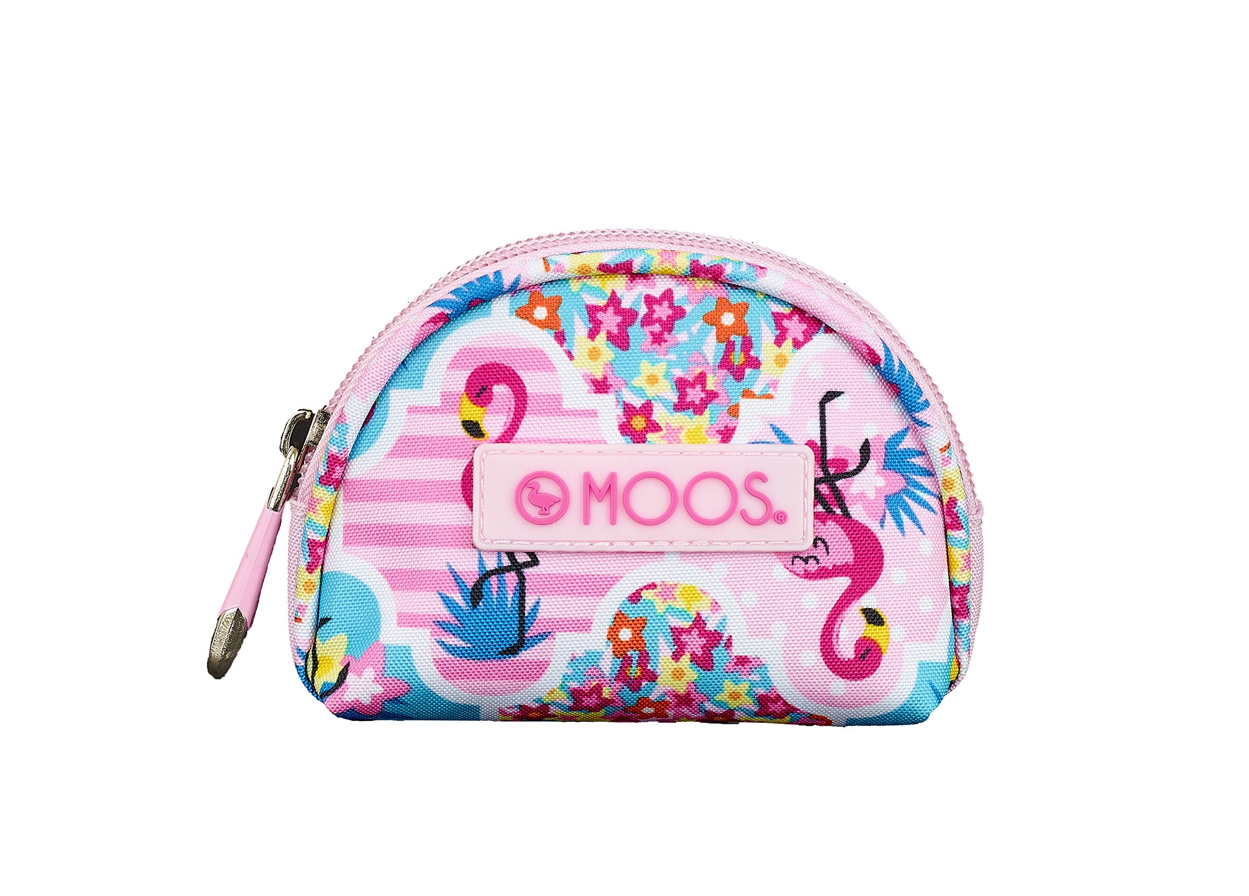 Moos Flamingo Pink Oficial Monedero 95x30x80mm