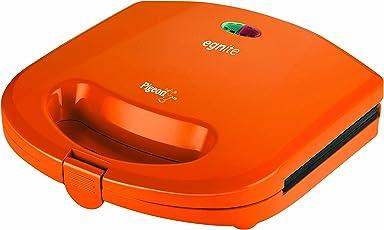 Pigeon Egnite Sandwich toaster orange