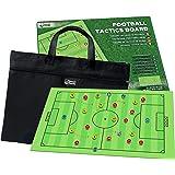 Lavagna Tattica da Calcio SmartPanda – Lavagna Portatile e Magnetica per Allenatori, Fronte/Retro, con Disegno a Tutto…