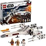 LEGO 75301 Star Wars Le X-Wing Fighter de Luke Skywalker Jouet de Combat avec la Princesse Leia et la Figurine de droïde R2-D