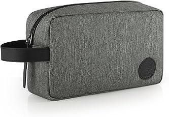 GAGAKU Beauty Case da Viaggio per Uomo Impermeabile Borsa da Toilette Cosmetici Borsa per Bagno