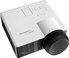 Optoma ML1050ST+  LED-Projektor (WXGA, Kurzdistanz, 20.000:1 Kontrast, 1000 Lumen) Weiß