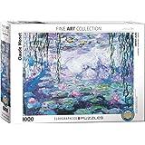 Eurographics 1000 bitar – Monet näckrosor-pussel