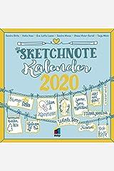 Der Sketchnote Kalender 2020 (Broschürenkalender) (mitp Kreativ) Kalender