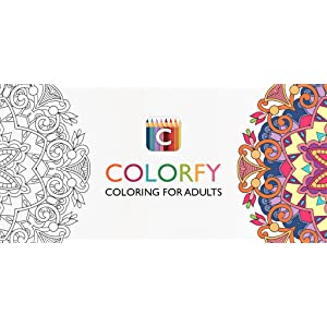 Colorfy Coloring Book for Adults Best Free App Amazoncouk