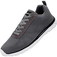 DYKHMATE Uomo Scarpe da Ginnastica Sportive Sneakers Running Basse Basket Sport Outdoor Fitness Sneakers