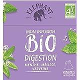Elephant Bio Infusion Digestion Menthe Verveine 20 Sachets 26g