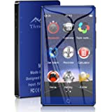 Timoom M7 Reproductor MP3 Bluetooth 16GB con Pantalla de Pantalla táctil completa de 4.0 Radio FM/E-Book/Video/Archivo/Foto,