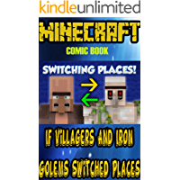 Minecraft comic stories: If Villagers And Iron Golems Switched Places