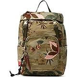 Desigual Womens Fabric Backpack MEDIUM, Green