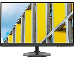 """Lenovo D27-30 - Monitor Gaming 27"""" FullHD (VA, 75Hz, 4ms, HDMI, VGA, FreeSync) Ajuste de inclinación - Negro"""