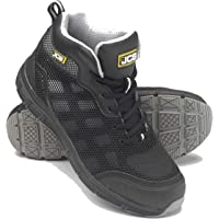 JCB Hydradig S1P Black Lightweight Mid Cut Steel Toe Cap Safety Boots Trainers