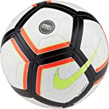 Nike Strk Team Ballon de Football Mixte Adulte, Blanc/Cramoisi Total/Noir/Volt, 5