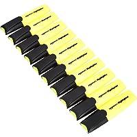 Amazon Basics - Evidenziatori, colore: giallo, confezione da 10