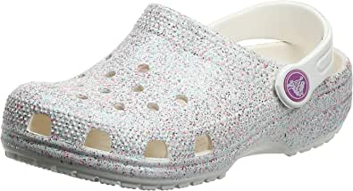 Crocs Unisex Kid's Classic Ombre Glitter Clog K Leisure Flip Flops Sportwear for Children