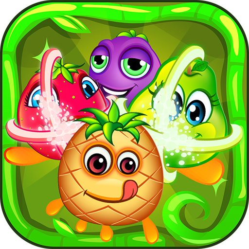 Fruits Crush Mania - Forest Friends Match 3 Puzzle Game