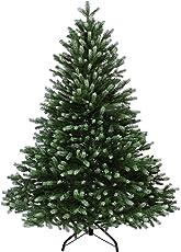 BB SPORT Luxus Christbaum künstlicher Weihnachtsbaum PE Spritzguss Tannenbaum in Verschiedenen Größen und Farben inkl. Standfuß