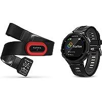 Garmin Pack Forerunner 735XT + HRM-Run Belt - Multisport GPS Watch with Cardio…
