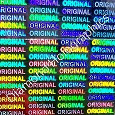 Diamond Hologram Stickers Original (25mm x 25mm) 1800 pcs