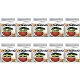 Tassimo Jacobs Café Au Lait, Lot de 10, Total 160 dosettes, 160 portions