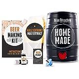 Kit para elaborar Cerveza Artesana Lager en Casa - Producto de Alemania - Disfruta tu cerveza en sólo 7 días - Brewbarrel Bra