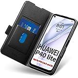 Huawei P40 Lite Fodral, Huawei P40 Lite Fall, Huawei P40 Lite Mobilskal med Korthållare, Hülle/Handyhülle/Schutzhülle-Fullstä