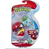 Pokemon PoKéMoN 95104 POP Action Poke Ball-Bulbasaur, Multicolor