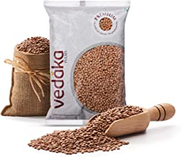 Amazon Brand - Vedaka Premium Black Masoor Whole, 1kg