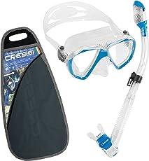 Cressi Ranger & Dry Professional Erwachsene Schnorchel Set