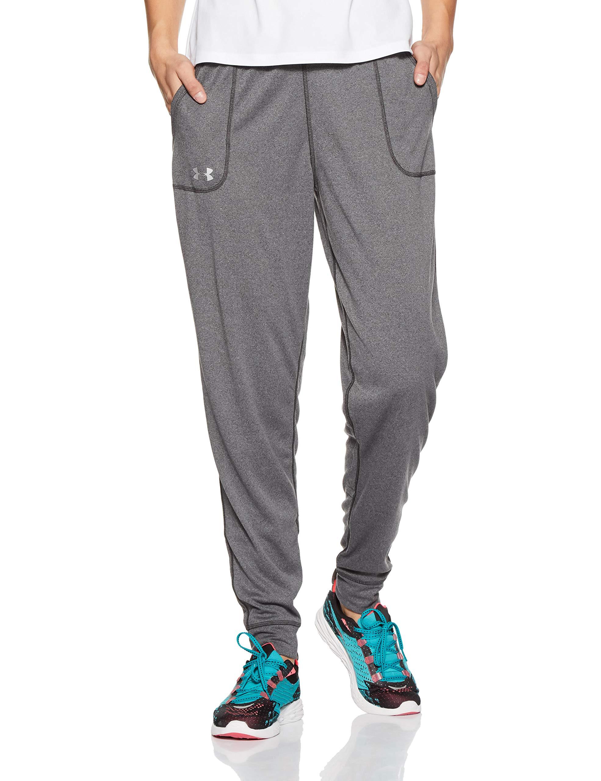 Dettagli su Under armour tech pant solid pantaloni sportivi donna grigio carbon (Kcj)