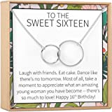 Dear Ava Sweet 16 Gift Necklace: Sweet Sixteen, 16th Birthday, Gift for Her
