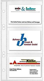 Veloflex Pochettes Pour Cartes De Visite 11 X 21 Cm Lot 10 Import Allemagne