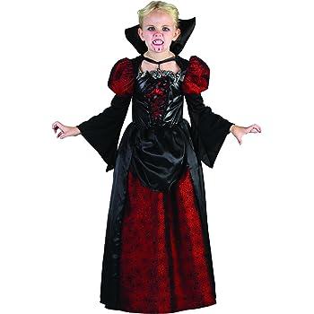 Costume da contessa vampiro per bambina Halloween 7/9 anni