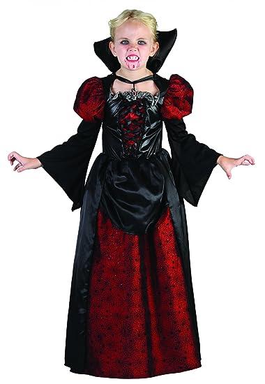 Favorito Costume da contessa vampiro per bambina Halloween 10/12 anni (140  VS89